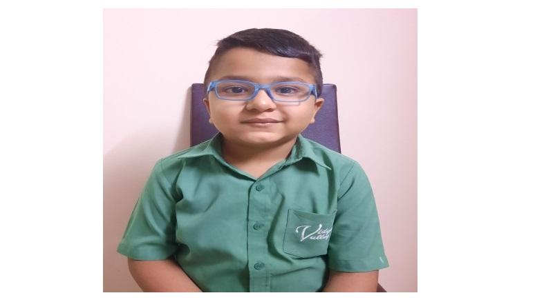 Hridhaan Sanghvi – Class 2B