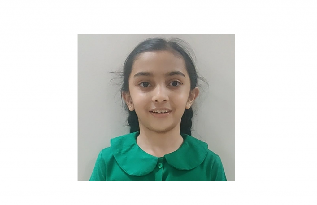 Shreya Marathe – Class 2A